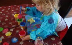 Malowanie - niezawodny sposób na zabawę.