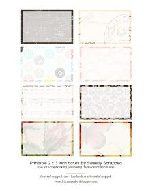 Sweetly Scrapped: *Free* Printable 2 x 3 Cards...