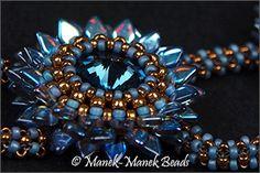 *P Chrysanthemum : Manek-Manek Beads - Jewelry | Kits | Beads | Patterns