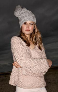Lana Grossa MÜTZE Alta Moda Super Baby Fine/Lace Paillettes - FILATI Handstrick No. 61 - Modell 16 | FILATI.cc WebShop
