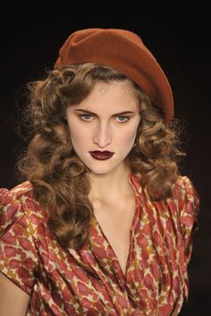 Lena Hoschek - Autumn/Winter 2012 Now that's how to wear a beret!