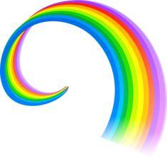 "Photo from album ""Радуга, свет"" on Yandex. Rainbow Png, Rainbow Brite, Rainbow Colors, Cartoon Cupcakes, Rainbow Images, Gay Aesthetic, Emoji Stickers, Cupcake Images, Girl Themes"