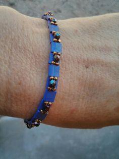 Tila bead bracelet