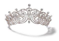 Cartier Foliates Tiara 1902