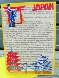 Japan Handmade Card greeting card birthday by RogueKissedCraft Birthday Greeting Cards, Card Birthday, Rogues, Etsy Store, Japan, Geisha, Create, Handmade Gifts, Awesome