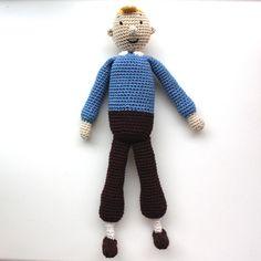 Lutter Idyl: Hæklet TinTin / Crochet TinTin