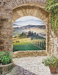 Фотообои Пейзаж Тосканы