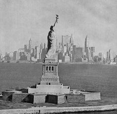Statue of liberty 1966