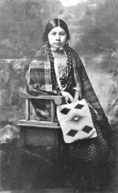 Susie McConville - Nez Perce - circa 1910
