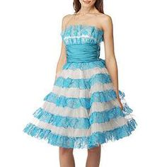 BN Betsey Johnson Lace Prom Dress / Ball Gown UK12 Great Gift ...