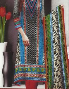 Displaying LS-09 Front 3 Pieces Unstitched Khaadi Like Lawn Shalwar Kameez Design PKR 1900 Advance Easy Pisa Free Delivery PKR 2200 Cash on Delivery.jpg