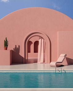 Art Et Architecture, Minimalist Architecture, Architecture Portfolio, Arquitectura Logo, Modelos 3d, Aesthetic Pictures, Aesthetic Wallpapers, Surrealism, Beautiful Places