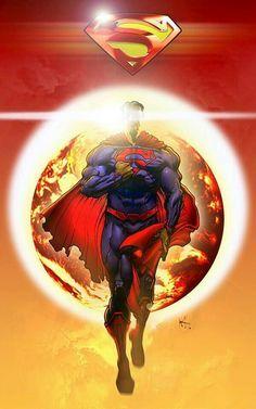 Superman by Anton Kokarev Poster Marvel, Poster Superman, Posters Batman, Superman Artwork, Superman Images, Arte Do Superman, Batman Vs Superman, Spiderman, Superman Stuff