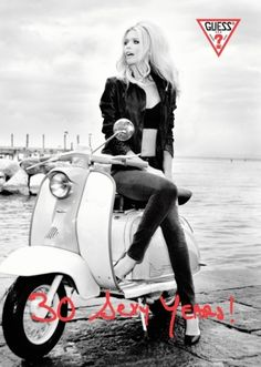 Claudia Schiffer per Guess 30th Years