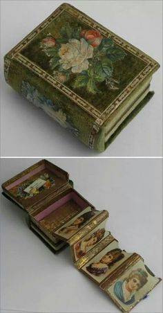 Victorian Sewing Needle Book  1870's
