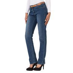 Pantalon jean regular avec ceinture vu dans le nouveau catalogue  Gémo et  repéré par l application  Overlay e8427eb7e5c