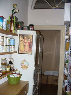 my pantry: no more Nutella! It contains palm oil.