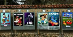 Funny Art, Funny Jokes, Photo P, Internet Memes, Pinocchio, Ursula, Happy Day, Graffiti, Street Art