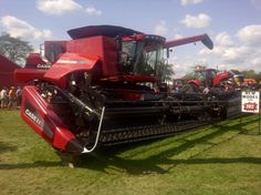 Farm Show, Forever Red, Case Ih, Harvester, Agriculture, Farms, Ontario, Tractors, Board