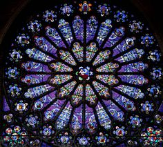 Saint-Denis Basilica - Rose Window | Flickr - Photo Sharing!