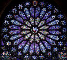 Saint-Denis Basilica - Rose Window   Flickr - Photo Sharing!