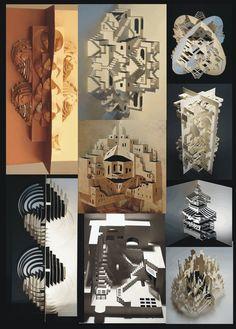 Ingrid Siliakus, une artiste hollandaise qui parvient à créer de splendides structures en papier