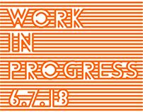 Chicago Artists Coalition - Work In Progess 2018