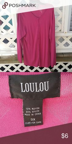 LouLou Sweater 31 in Long light weight Loulou Sweaters Cardigans