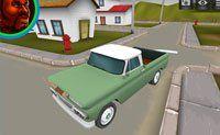 3D Amerikaanse Wagen Rijden