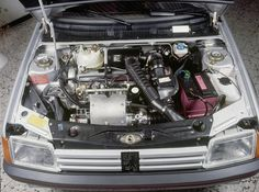 Peugeot 205 GTI 1.9l Phase 1 Engine bay