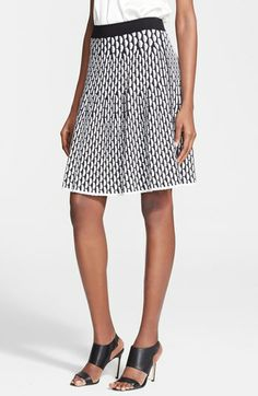 M Missoni Fan Stitch Flared Skirt available at #Nordstrom