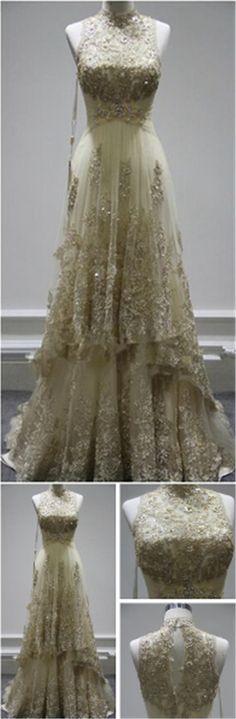 Lace prom dress,long prom dress,high quality prom dress,charming prom dress,gorgeous evening dress,formal dress,PD190336