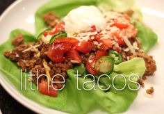 Healthy Lithe Tacos for your next Taco Tuesday! #eatinglithe