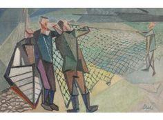 Gösta Diehl (1899-1964)*  öljy, sign. -51, 39x60