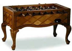 Queen Anne Furniture Style Foosball Tables include:
