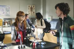 Galadriel Stineman and Charlie McDermott on ABC's The Middle