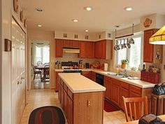 Small Kitchen Remodel Ideas On A Budget ~ http://lovelybuilding.com/small-kitchen-remodel-tips/