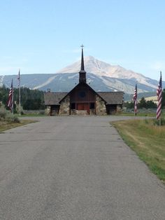 Soldiers Chapel, Big Sky Montana