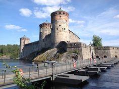 Olavinlinna Castle in Savonlinna in Finland