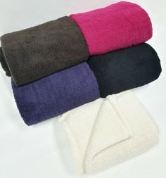 """With Love Home Decor - Super Soft Luxurious Sherpa Throw 50""""x60"""" - Multiple Colors, $28.50 Click here for full description www.withlovehomedecor.com/products/super-soft-luxurious-sherpa-throw-50x60-multiple-colors.html"""