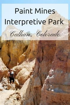 Paint Mines Interpretive Park in Calhan, Colorado