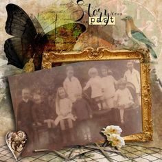 Story From The Past   Digital Scrapbooking at Scrapbook Flair