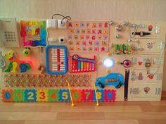 Busy Board Sensory board gift toddler Activity by BusyBoardOlga