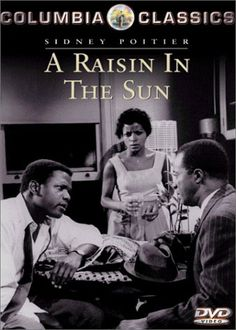 1961. A Raisin in the Sun: based on Lorraine Hansberry play of same name. The first successful play on Broadway written by a black female playwright. Sidney Poitier, Claudia McNeil were nominated for Tony Awards for their performances in the Broadway production.  Most of the movie cast for the movie also appeared in the Broadway production of the movie as well.  Sidney Poitier, Claudia McNeil, Ruby Dee, Diana Sands & Ivan Dixon.  Louis Gossett Jr.'s film debut in movie. ~Repinned via Observer X