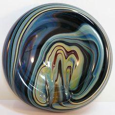 Glas Schale Murano Calcedoinia Glas • Perfekter Zustand