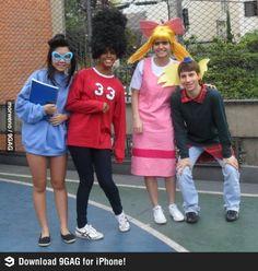Diy group Hey Arnold! Halloween costumes