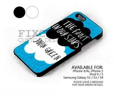 The Fault in Our Stars case for iPhone 4/4S/5 iPod 4/5 Galaxy S2/S3/S4 | FixCenter - Accessories on ArtFire