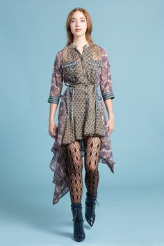 345b4ad61e7f Anthropologie Pieced Brocade Dress From Beguile by Byron Lars Sz - NWT