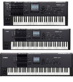 Yamaha Motif XF6, XF7, XF8