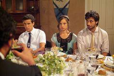 Aitor, Sara y Lucas en 'Los hombres de Paco'